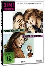 PLAN B FÜR DIE LIEBE (Jennifer Lopez)  + EINMAL IST KEINMAL (2 DVDs) NEU+OVP