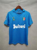 1987-88 Napoli Home Retro Soccer Jersey