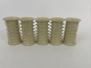 ConAir Curl Dazzler Model HS-2 Set 5 Replacement Part Large Hot Rollers Curlers