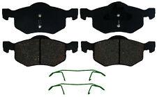 Disc Brake Pad Set-Ceramic Disc Brake Pad Front ACDelco Advantage 14D843CH