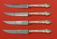 "Versailles by Gorham Sterling Silver Steak Knife Set 4pc HHWS  Custom 8 1/2"""