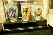 1995 Signature Series Collectors Glasses Kentucky Derby  Preakness Belmont MINT