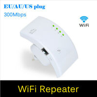 US 300Mbps Wireless N 802.11 AP Range Router Wifi Repeater Extender Booster IB