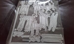 Metal Cutting Dies, Set of Flowers - fits with carnation crafts