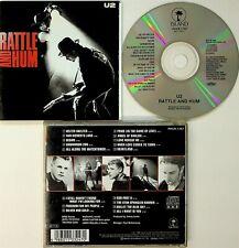 U2 – Rattle And Hum CD (PHCR-1707 JAPAN 1992) 17 Tracks inc LIVE