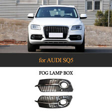 For AUDI Q5 Sline SQ5 13-17 PLating Fog Lamp Cover Trim Fog Lights Frame 2PCS