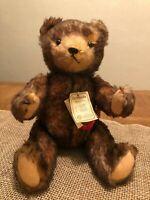 """Sweet Vintage Hermann Original Bear Mohair Ltd 269 3000 West Germany 14"""" Jointed"""