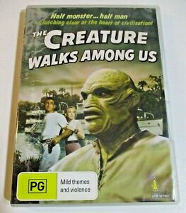 The Creature Walks Among Us DVD Monster Movie Creature from The Black Lagoon