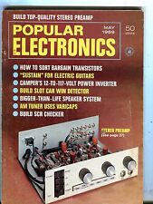 Popular Electronics Magazine May 1969 Stereo Preamp 070517nonjhe