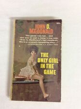 The Only Girl in the Game by John D MacDonald 1960 (PB)-Fair GOLD MEDAL d1636