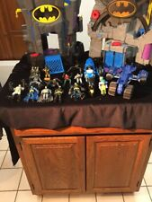 BATMAN IMAGINEXT Lot 2 Bat Caves Lots Of BATMAN Figures & Vehicles FISHER PRICE