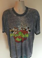 Space Jam T Shirt 2XL Graphic Tee Blue Warner Brothers Looney Tunes Short Sleeve