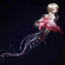 Bjd 1/8 Recast Jellyfish Girl Face Makeup And Eyes