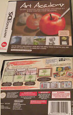 Art Academy Zeichen Maltechniken Nintendo DS 3DS Malspiel Lernspiel Deutsch sp N
