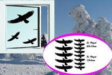 Vögel 13stk Fensteraufkleber Vogel Wintergarten Fenster Schutz Sticker Aufkleber