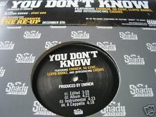 "Eminem You Don't Know 12"" Single 50 Cent Lloyd Banks"