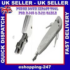3 modo arrugador Rj45 Rj11 Rj12 Cat5e Cat6e Red Pc Cable Punch Down Tool C031
