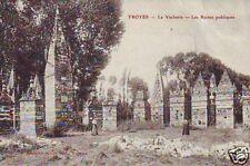 CPA Aube Troyes La Vacherie Les Ruines publiques p84373