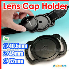 Camera Buckle Lens Cap Holder Keeper Strap Universal Capbuckle 40.5mm 49mm 62mm
