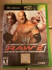 WWE Raw 2 (Microsoft Xbox) No Manual