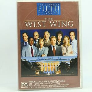 The West Wing Season 5 Complete Martin Sheen DVD Good Condition