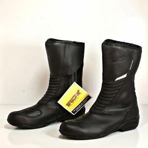 TCX Aura Plus Waterproof Motorcycle Boot Women's Black Leather US-9 EU-41 8014W