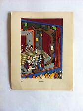 Reprise SANSTICKETS Dessin illustration HENRI MONIER & POL FERJAC HUMOUR 1942