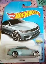 Hot Wheels Cars - BMW M4 petrol green/light blue mix
