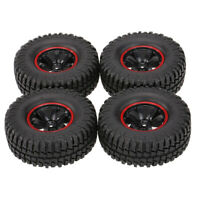 1.9inch RC Racing Tires Wheels for 1/10 Scale RC Climbing Crawler Parts Red