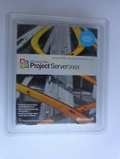 Microsoft Project Server 2003 (5-Client) (New!Factory sealed retail box)