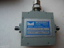 Merrimac Sma Coaxial Atenuador asm-25 7 - 18ghz 20db control Gama Nueva 1 Pieza