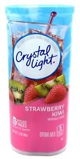 12 12-Quart Canisters Crystal Light Strawberry Kiwi Drink Mix