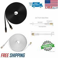 RJ45 Cat7 Ethernet Network LAN Patch SSTP Gigabit Cable 0.3M//0.5M//1M//2M//3M//5M