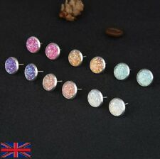 Women's Sparkle Earrings in 6 Colour Set - UK Free P&P
