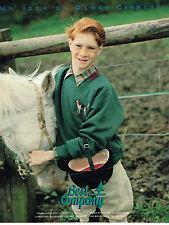 PUBLICITE ADVERTISING 094  1989  BEST COMPANY   mode vetements enfants
