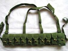 Chinese Military Surplus SKS Type 56 Semi Chest 7.62 10 Pocket Chest Pouch Rig