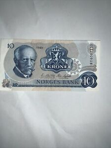 Norwegen - 10 Kronen - Banknote Gute Erhaltung