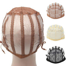 Wig Cap Making Wigs Straps Breathable Mesh Weaving Adjustable Cap 3 Styles