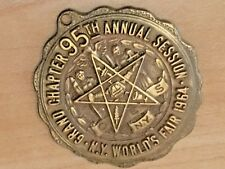 1964 Masons OES Grand Chapter 95th Annual Session Medal