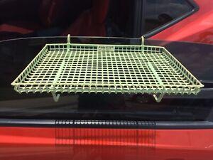 1950's 1960's Vintage Drive-In Car Window Food Tray SERV-A-TRAY Car Hop Jadite