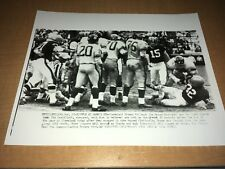 Cleveland Browns Jim Brown FIGHT vs. New York Giants 1963 AP Wire Photo