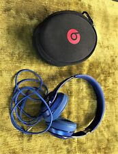 Beats by Dr. Dre Solo Wired On-Ear Headphones - Blue in Case