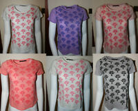 Marks & Spencer M&S Women Round Neck Short Sleeve Cotton Floral T Shirt Top Tee