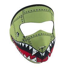 Small Bomber Child Size Reversable to Black Neoprene Face Mask Paintball Costume