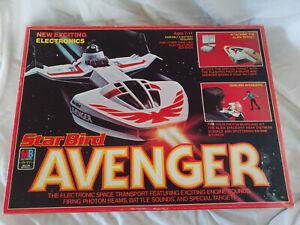 Vintage Original 1979 Milton Bradley Star Bird Avenger Toy With Box WORKS HTF