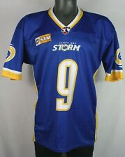 Vintage Tampa Bay Storm AFL Arena Football League Jersey M Made in USA bucs