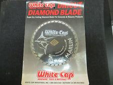 White Cap Dricut Diamond Blade Concrete & Masonry Super Dry Cutting Blade 7''