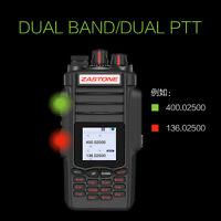 Zastone A19 Walkie Talkie Transceiver 10W VHF&UHF Handheld Radio For Hunting