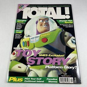 TOTAL Magazine #52 April 1996 Retro Nintendo SNES NES Game Boy N64 Toy Story