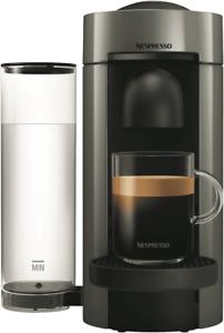 Delonghi Nespresso VertuoPlus Deluxe Capsule Coffee Machine: Titanium ENV155T